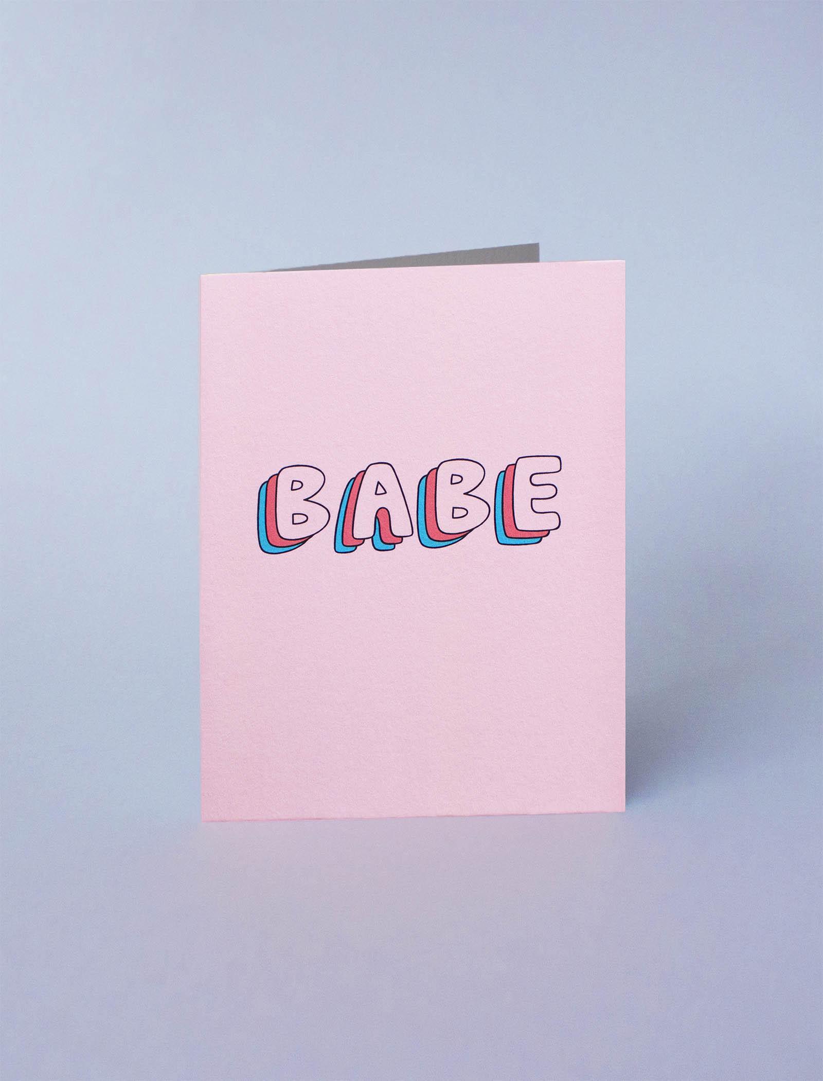 carte de voeux babe cute jonesie