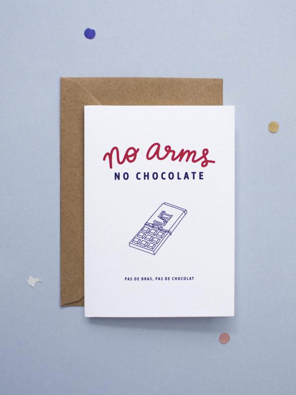 Carte No Arms, No Chocolate