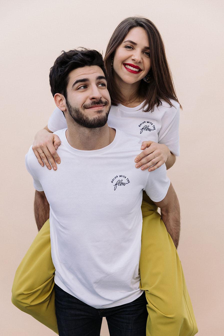 tee shirt brodé unisexe