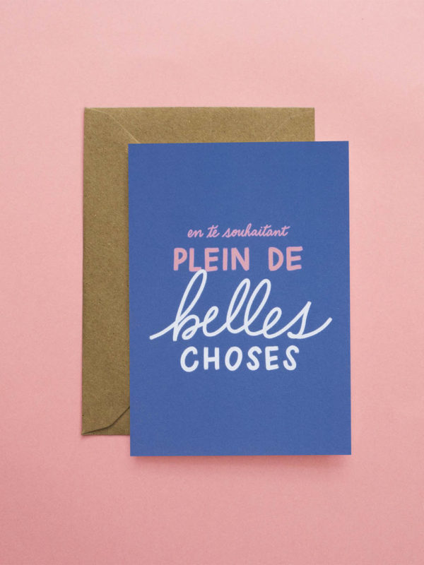 Carte Plein De Belles Choses