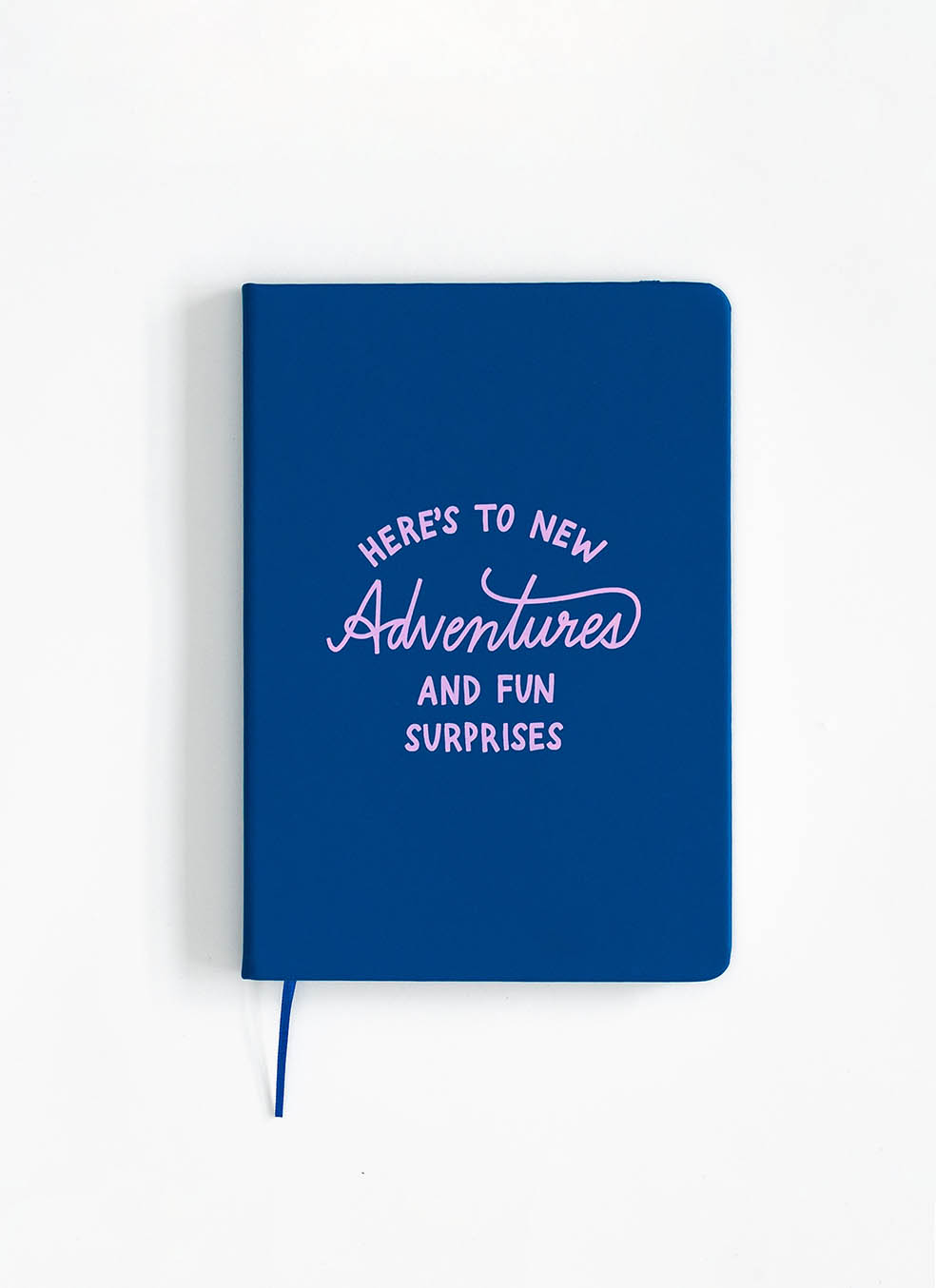 Carnet A5 Here's To New Adventures