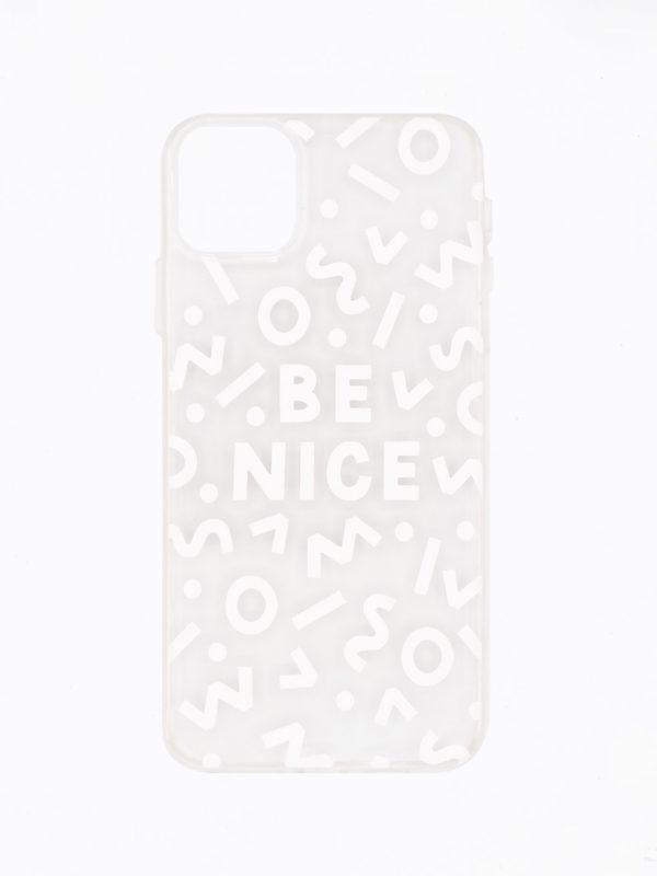 Coque Be Nice – Blanc