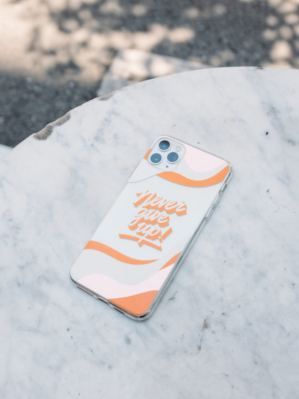 Coque Never Give Up
