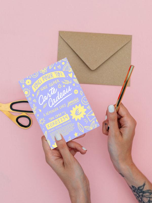 Carte Cadeau (Version Violet)