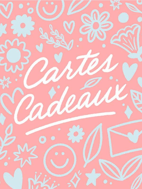 Carte Cadeau (Version Rose)