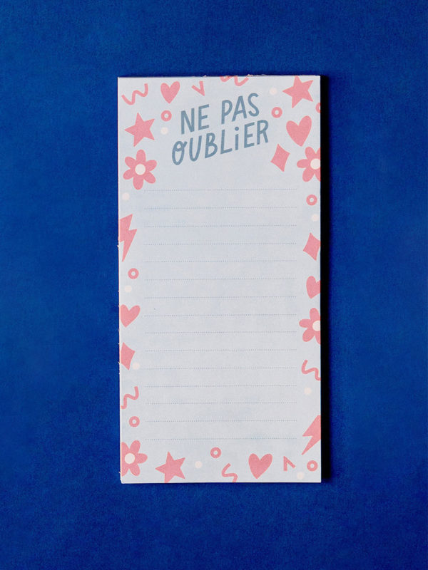 To-Do List Ne Pas Oublier